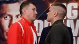 Gennady Golovkin et Sergiy Derevyanchenko
