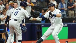 Brandon Lowe et Ji-Man Choi