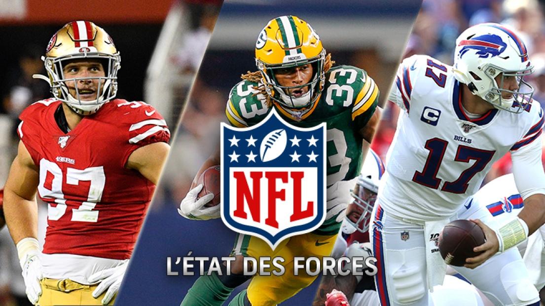 État des forces NFL - 8 octobre 2019