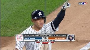 Yankees-Astros; frappeurs contre lanceurs