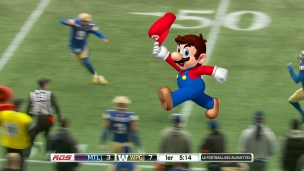 Une autre étoile pour Super Mario Alford!