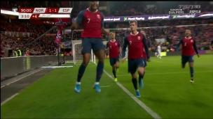 Norvège 1 - Espagne 1