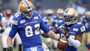 Alouettes 24 - Blue Bombers 35