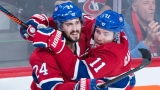 Phillip Danault et Brendan Gallagher