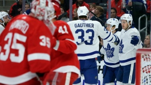 Maple Leafs 5 - Red Wings 2
