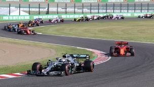 Bottas profite du cadeau de Vettel