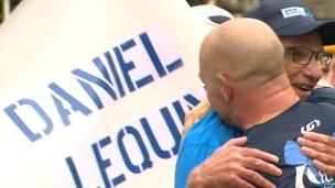 Daniel Lequin complète son 100e marathon!