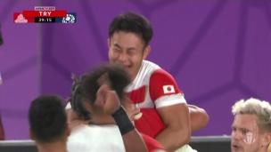 Japon 28 - Écosse 21
