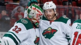 Alex Stalock et Ryan Hartman