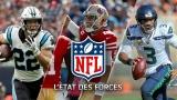 État des forces NFL 15 octobre 2019
