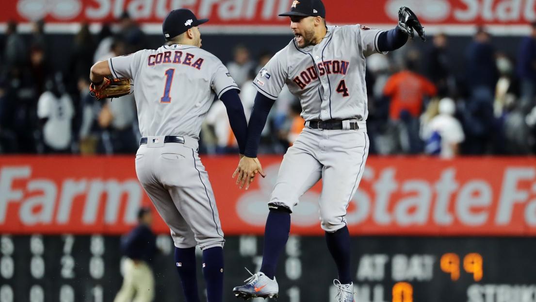 Carlos Correa et George Springer