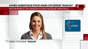 Une année sabbatique pour Anne-Catherine Tanguay