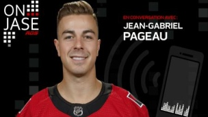 On jase avec Jean-Gabriel Pageau