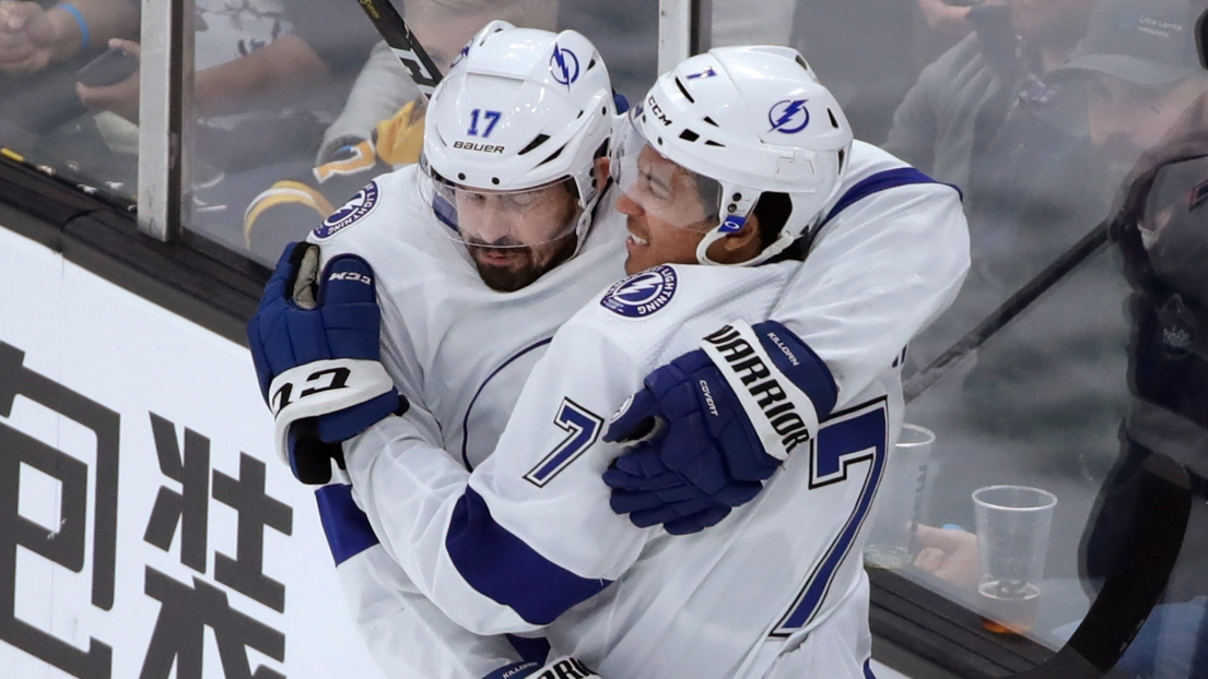 Alex Killorn et Mathieu Joseph