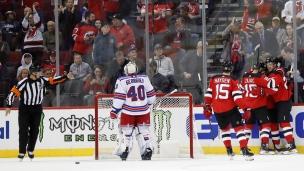 Rangers 2 - Devils 5