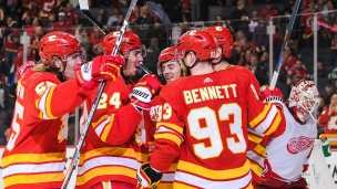 Red Wings 1 - Flames 5