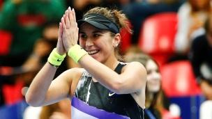 Belinda Bencic en finale à Moscou