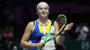 Ostapenko vient à bout de Blinkova