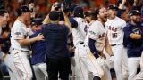 Les Astros de Houston célèbrent