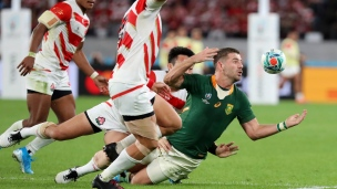 Rugby : Japon 3 - Afrique du Sud 26