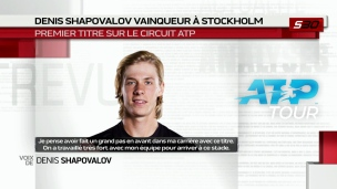 Un bond de 7 places pour Shapovalov