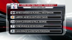 Fini l'ère des Big-Three dans la NBA?