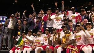 Les Raptors amorcent leur saison en champion