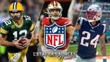 États des forces NFL - 22 octobre 2019