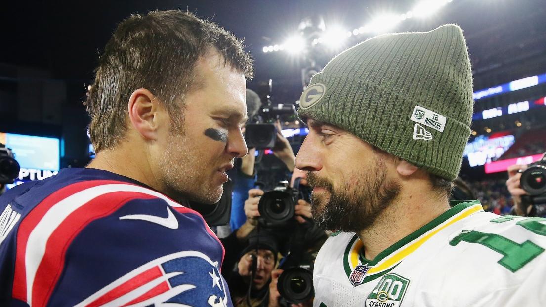 Tom Brady et Aaron Rodgers