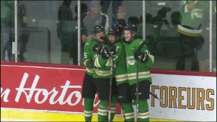 Olympiques 3 - Foreurs 5