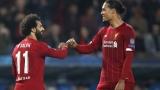 Mohamed Salah et Virgil van Dijk