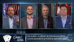Le carré d'as : Tom Brady, Kawhi Leonard et Mike Babcock