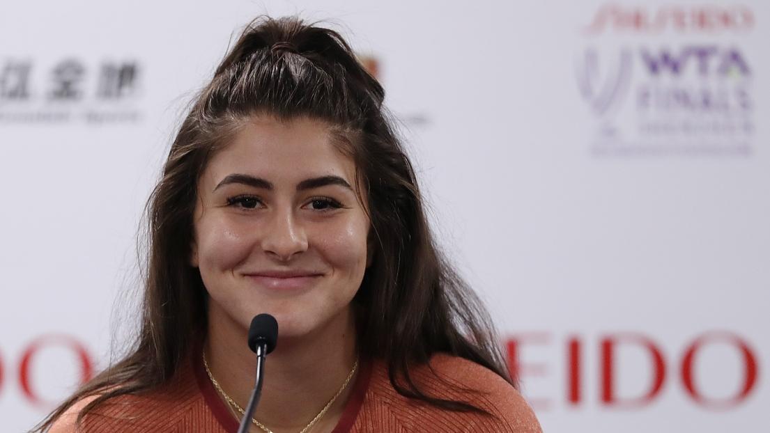 Masters WTA: Halep sauve une balle de match et mate Andreescu