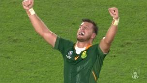 Pays de Galles 16 - Afrique du Sud 19