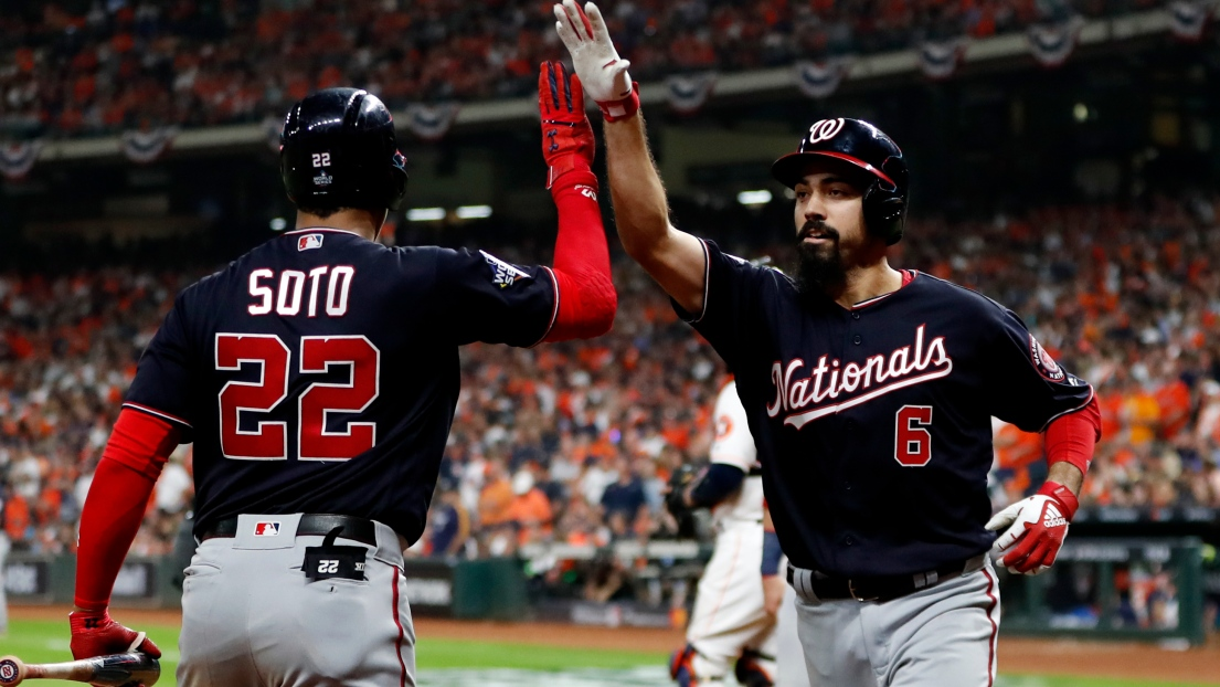Juan Soto et Anthony Rendon