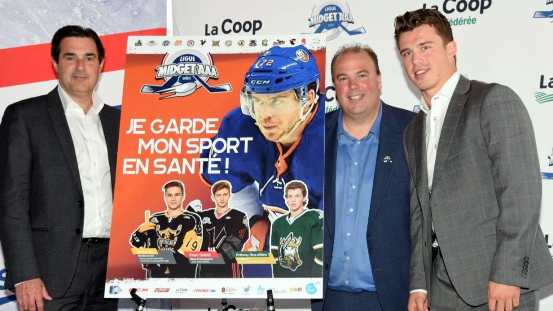 Campagne Anthony Beauvillier midget AAA