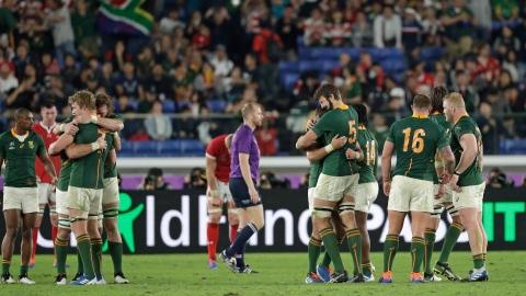 RDS Direct : l'Angleterre défie une Afrique du Sud ressuscitée