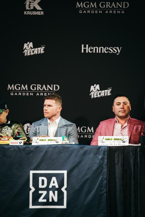 Saul « Canelo » Alvarez et Oscar De La Hoya