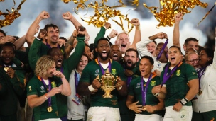 Rugby : Angleterre 12 - Afrique du Sud 32