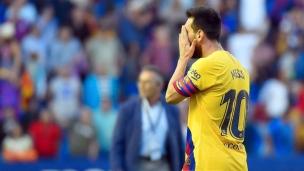 Levante 3 - FC Barcelone 1