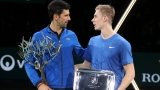 Novak Djokovic et Denis Shapovalov