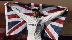 Hamilton champion pour la 6e fois