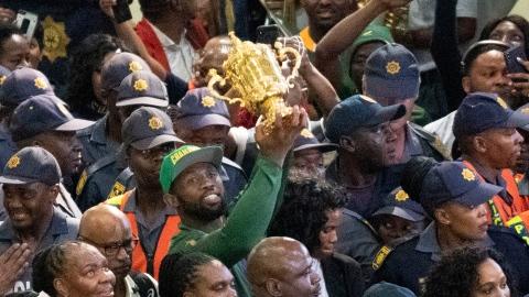 La fête en Afrique du Sud malgré la crise