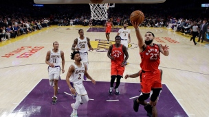 Raptors 113 - Lakers 104