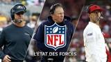 État des forces NFL 12 novembre 2019