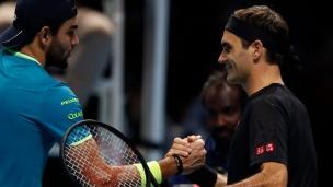 Federer s'impose devant Berrettini