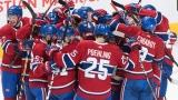 Les joueurs du Canadien célèbrent