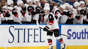 Coyotes 3 - Blues 2 (Tirs de barrage)