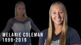 Le département sportif de l'Université Southern Connecticut State a rendu hommage à Melanie Coleman