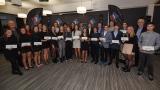 Les boursiers de la remise du Programme de bourses de Golf Québec.